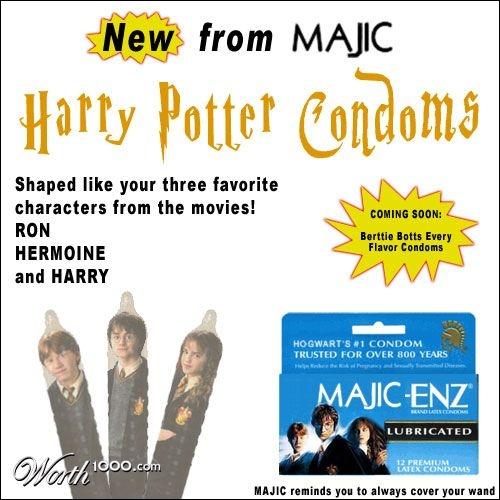 D'après cette photo, que pourraient vous dire Hermione, Ron et Harry (slogan de la lutte anti-sida) ?