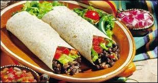 Dans un véritable burrito originaire du Mexique vous ne trouverez pas de ….