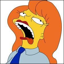 Qui est celle qui travaillera aux côtés d'Homer Simpson et dont il tombera amoureux ?