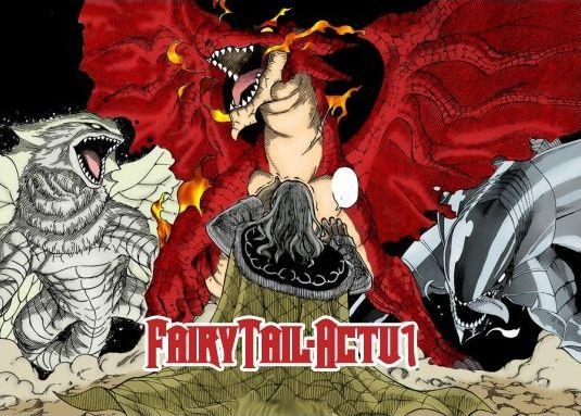 Dragons de Fairy Tail