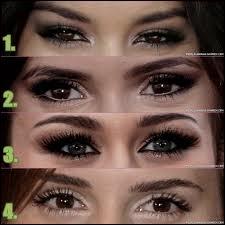Quels sont les yeux de Nina Doberv ?