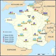 Quel est le nombre de centrales nucléaires en activité, aujourd'hui en France ?