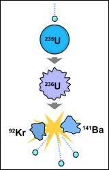 Quel est le phénomène par lequel le noyau d'un atome lourd (uranium) est divisé en plusieurs nucléides plus légers, avec émission de neutrons et un dégagement d'énergie très important ?