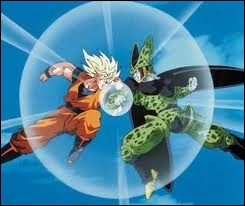 Sangoku s'est battu contre Cell lors du Cell game. Quelle était l'issue du combat ?