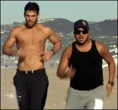 Avec qui Kevin fait son jogging ?