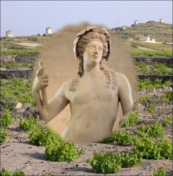 Selon la mythologie grecque, à quel personnage Dionysos Dieu de la vigne, enseigne-t-il l'art de faire du vin ?