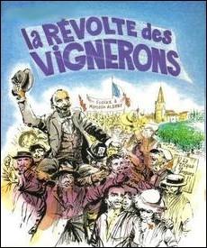 Dans quelle région est survenu en 1907, une révolte des vignerons appelée   Révolte des gueux  , conséquence de la crise viticole survenue au début du XXème siècle ?