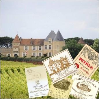 Quel homme d'Etat français est à l'origine de la classification officielle des Grands Crus du Bordelais en 1855 ?