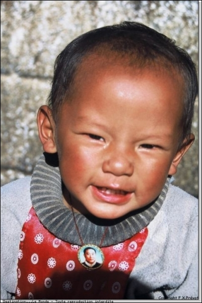 Peut-être né dans une province autonome non loin de celles du Qinghai, du Gansu ou du Sichuan.