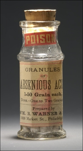 L'arsenic...