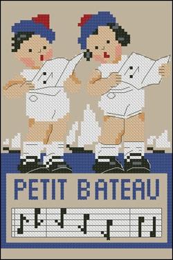 """Le nom de la marque Petit Bateau est inspiré de la chanson : """"Maman les p'tits bateaux qui vont sur l'eau ont-ils... ?"""""""