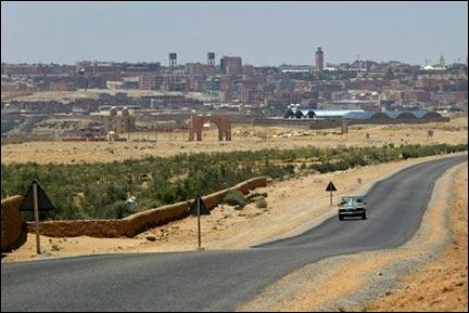 Annexion du Maroc soigneusement évitée par le rallye Paris-Dakar, le Sahara occidental avait une capitale :