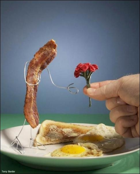 Qu'y a-t-il dans l'assiette ?