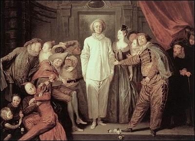 Comédiens italiens, 1720