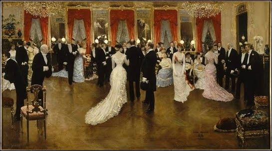 Une soirée, 1878