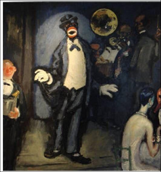 Le Nightclub, le chanteur Johnny Hudgins, 1920