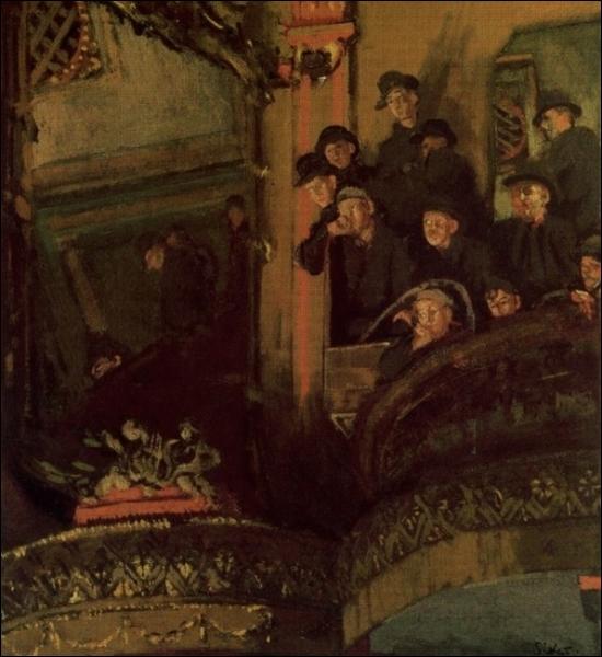 La galerie d'en haut, 1920