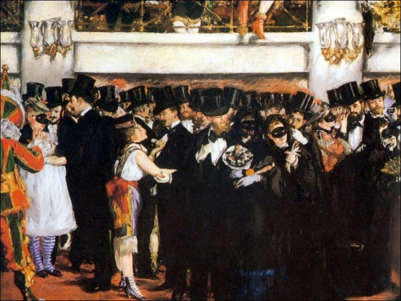 Bal masqué à l'Opéra, 1873-74