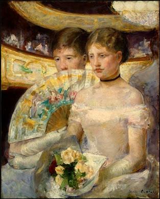 Deux femmes dans une loge, 1881-82