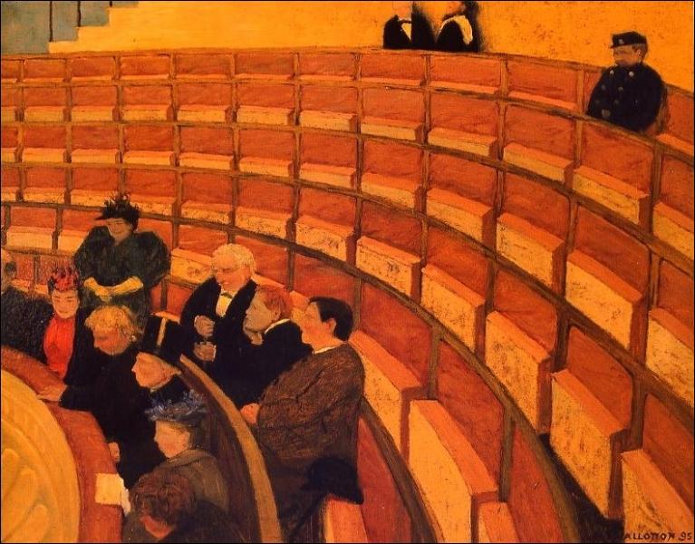 La Troisième Galerie au théâtre du Châtelet, 1895