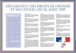Est-il vrai que la Déclaration des droits de l'homme et du citoyen de 1789 impose aussi des devoirs ?