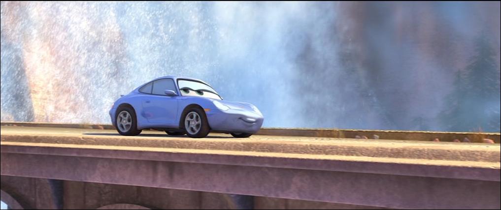 Nom d'une Porsche ! Sally est une ...