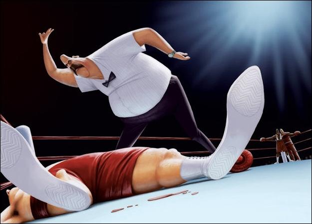Quel chiffre doit annoncer l'arbitre, dans un combat de boxe, pour annoncer le hors-combat ?