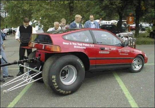 Quel modèle de Honda est présenté ici ?