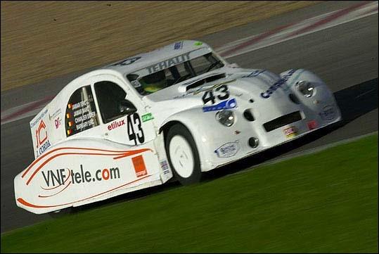 Saurez-vous reconnaitre le modèle de cette voiture de course ?