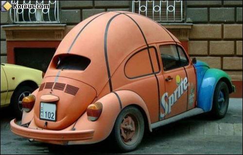 A la base, quelle voiture était cet énorme ballon de basket ?