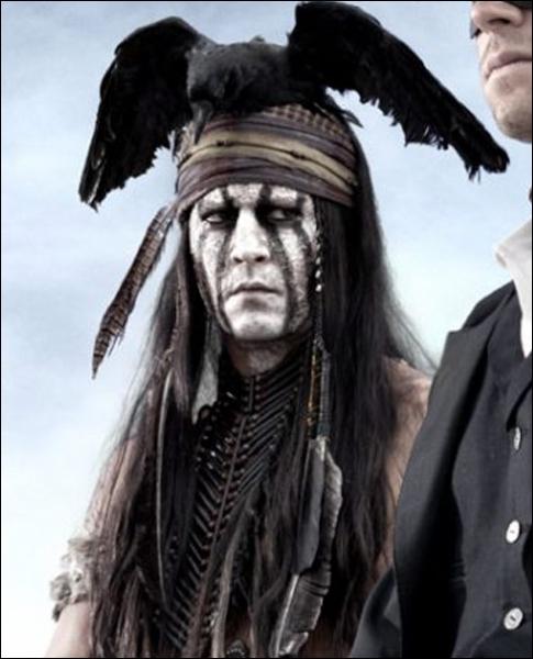 Et pour terminer, dans quel film peut- (ou pourra-t) on trouver Johnny Depp déguisé en Indien ?