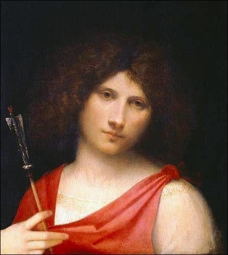 Garçon avec une flèche, c. 1505