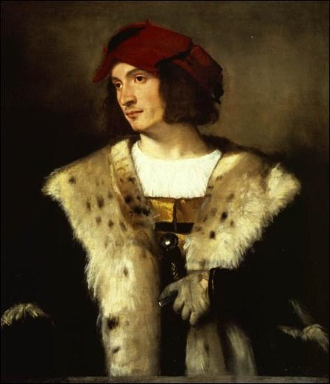 L'homme au chapeau rouge, 1516