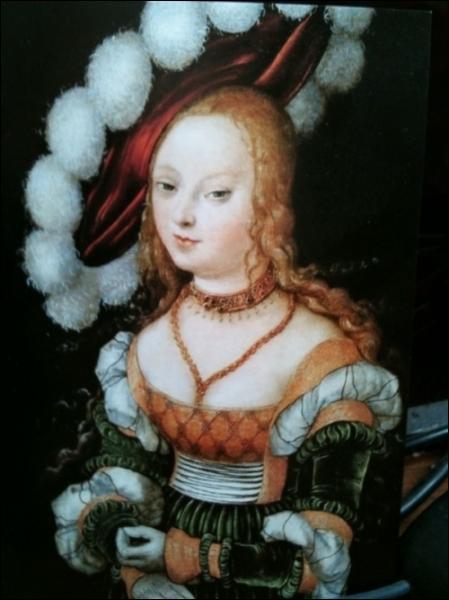 Portrait idéalisé de jeune femme, 1530