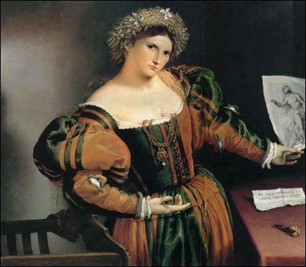 Portrait de Lucrezia Valier, c. 1533
