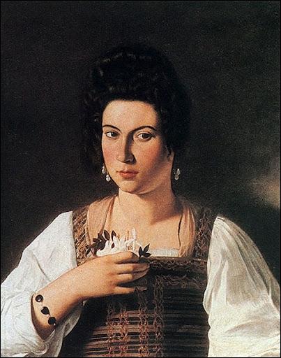 Portrait d'une courtisane, c. 1597