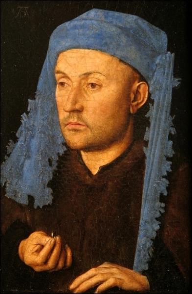 L'homme au chaperon bleu, 1430