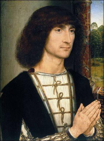 Portrait d'un jeune homme priant, c. 1485
