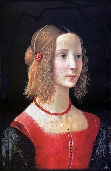 Portait de femme, 1490