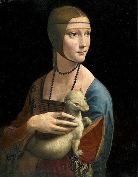 La dame à l'hermine, 1490
