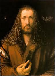 Autoportrait au manteau à col de fourrure, 1500