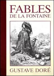 De quelle fable de La Fontaine est extraite cette morale :  Chacun a son défaut où toujours il revient : honte ni peur n'y remédie.