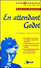Samuel Beckett, l'auteur de  En attendant Godot , a écrit en anglais et en français. Connaissez-vous la nationalité de ce dramaturge ?
