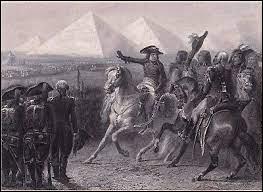 """Complétez les célèbres paroles prononcées par Bonaparte à ses fidèles soldats au moment de la bataille ; """"Soldats, songez que du haut de ces pyramides --- vous contemplent"""" ?"""