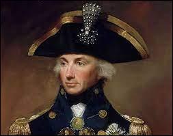 Quel amiral anglais a quasiment anéanti la totalité de la flotte française, rendant impossible tout espoir de retour de l'armée ?