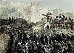 Avec une armée affaiblie et manquant de moyens logistiques, Napoléon Bonaparte renonce à poursuivre le siège d'une ville mythique des croisades (mars 1799) . Cette ville fut le dernier bastion des Templiers en Terre Sainte :