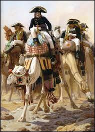 Napoléon Bonaparte est conscient que la situation est sans avenir pour lui en Egypte. Il prend la décision d'abandonner son armée et de rentrer en secret en France. Comment fera-t-il son voyage de retour (août 1799) ?