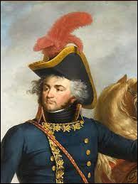 Quel général nomme-t-il pour commander l'armée d'Egypte après son départ ? Il aura la rude tache de tenter de négocier une paix acceptable avec les anglais et d'endosser la responsabilité de la défaite.