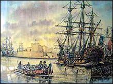 Quelle île stratégique est prise aux chevaliers de Temple car ils avaient refusé de ravitailler la flotte française (juin 1798) ?