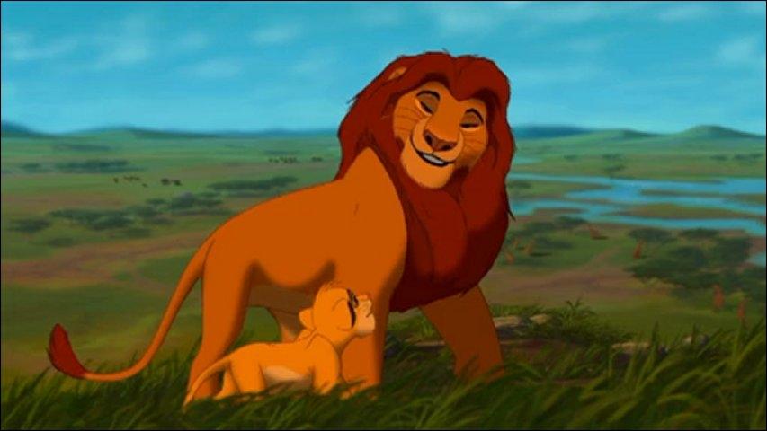 Quelle est la première leçon que donne Mufasa à Simba ?